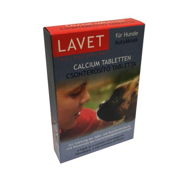 Lavet Calcium Csonterősítő Tabletta Kutyáknak 50db