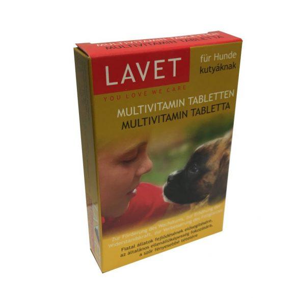 LAVET Multivitamin Tabletta Kutyáknak 50db