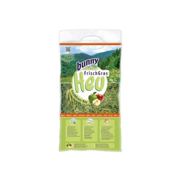 bunnyNature FreshGrass Hay with Apple 500g