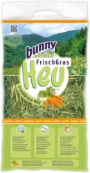 bunnyNature FreshGrass Hay with Carrot 500g