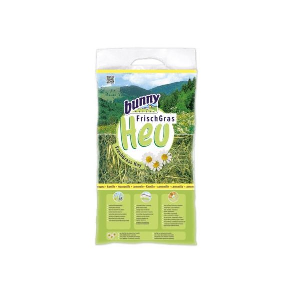 bunnyNature FreshGrass Hay with Camomile 500g
