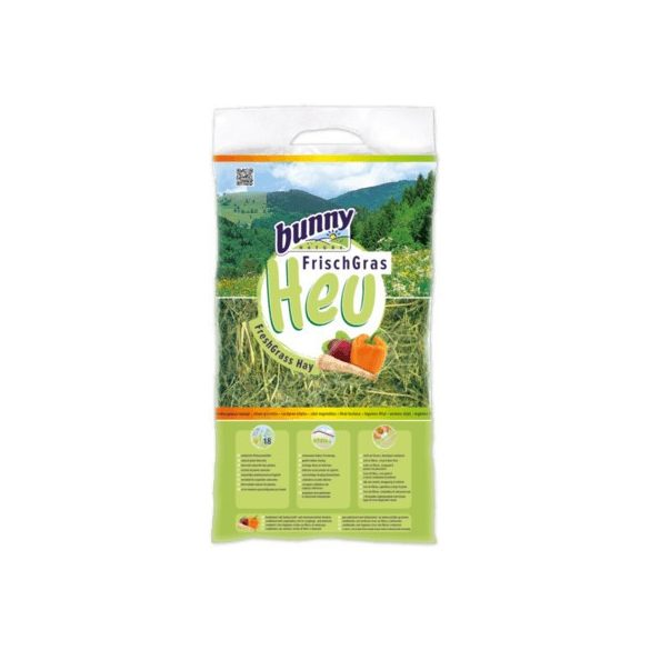 bunnyNature FreshGrass Hay with Vegetable 500g