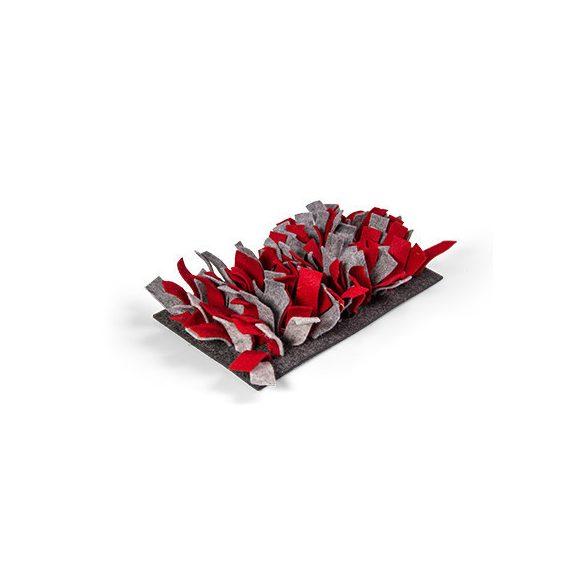bunnyNature bunnyInteractive Snufflemat Felt (red-grey) 15x28cm