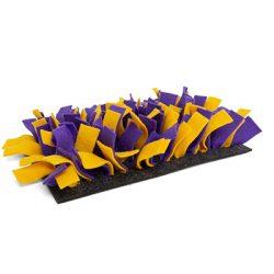 bunnyNature bunnyInteractive Snufflemat Felt (purple/yellow) 15x28cm