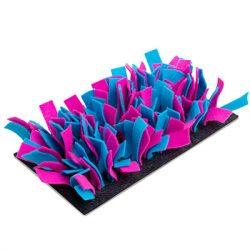 bunnyNature bunnyInteractive Snufflemat Felt (turquoise/pink) 15x28cm
