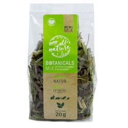 bunnyNature »all nature« BOTANICALS Mix with peppermint leaves & camomile blossoms 20g