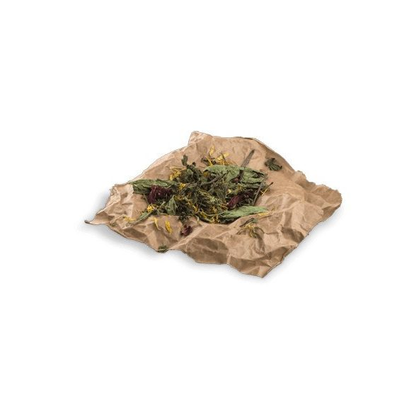 bunnyNature »all nature« BOTANICALS Mix with hibiscus blossoms & parsley stemps 25g