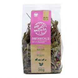 bunnyNature »all nature« BOTANICALS Mix of ribwort & rose blossoms 20g