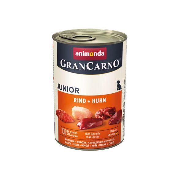 GranCarno Junior Marha + Csirke 400g
