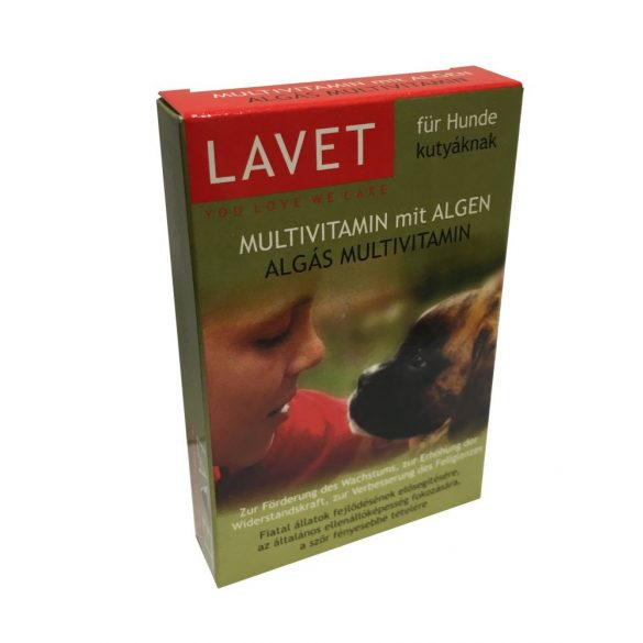 Lavet Algás Multivitamin Kutyáknak 50db
