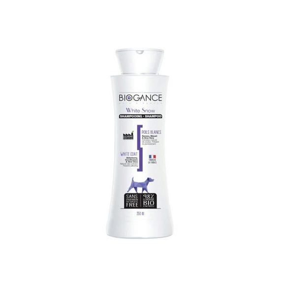 Biogance White Snow Sampon Fehér Szőrre 250ml