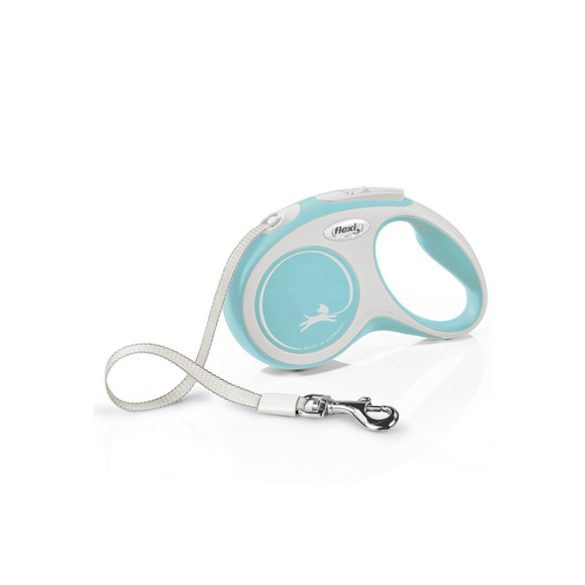 Flexi New Comfort S Világos Kék Szalagos 5m