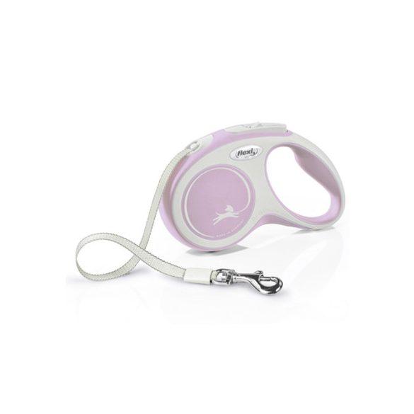 Flexi New Comfort S Pink Szalagos 5m