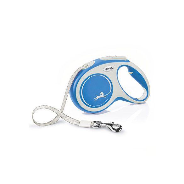 Flexi New Comfort M Kék Szalagos 5m