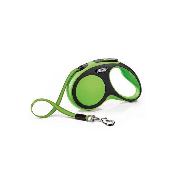 Flexi New Comfort M Zöld Szalagos 5m