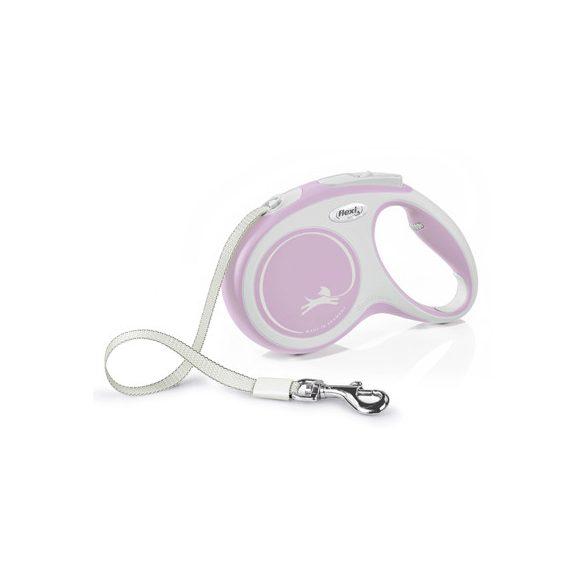 Flexi New Comfort M Pink Szalagos 5m