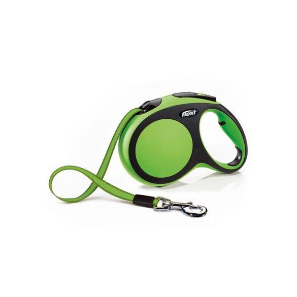 Flexi New Comfort L Zöld Szalagos 5m