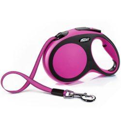 Flexi New Comfort L Pink Szalagos 5m