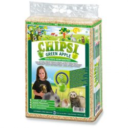 Chipsi Forgács Zöldalmás 60l