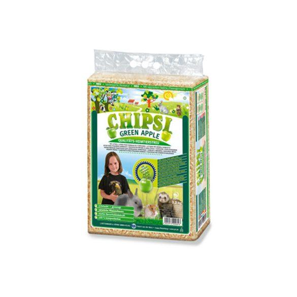 Chipsi Plus Zöldalmás Forgács  60l