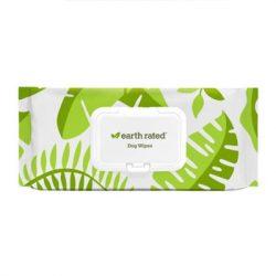Earth Rated Környezetbarát Nedves Törlőkendő Levendula illattal 100db