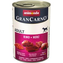 Animonda GranCarno Adult Marha + Szív 400g