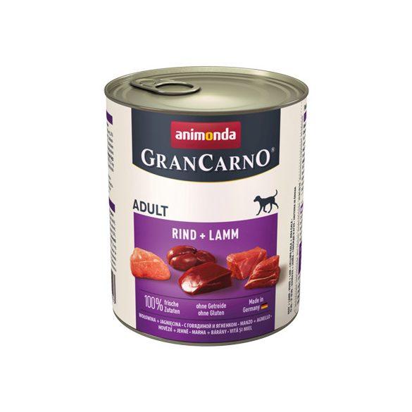 Animonda GranCarno Adult Marha + Bárány 800g