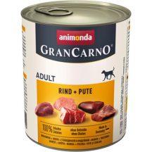 Animonda GranCarno Adult Marha + Pulyka 800g