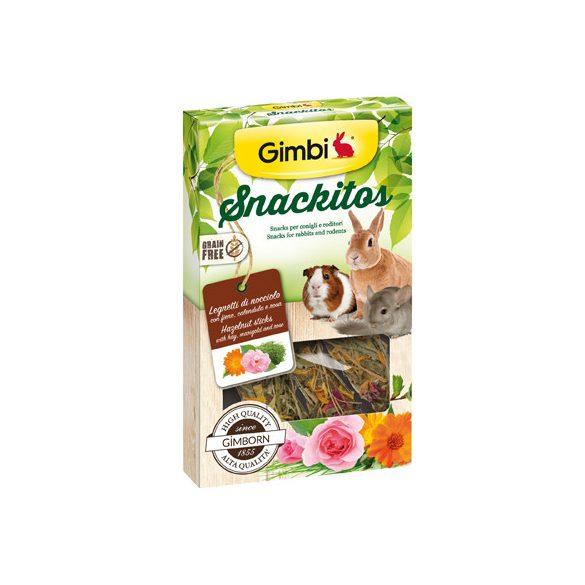 Gimbi snackitos sticks mogyorós 45g
