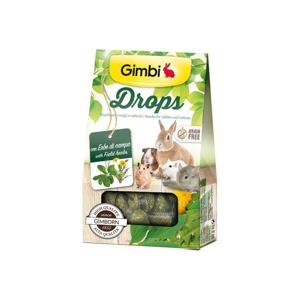 Gimbi snack drops mezei gyógynövényekkel 50g