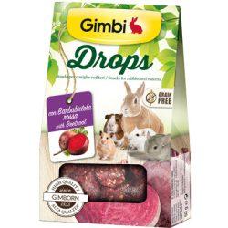 Gimbi snack drops céklával 50g
