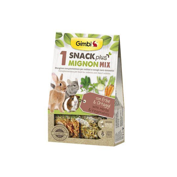 Gimbi snack plus mignon mix 1 zöldség 50g