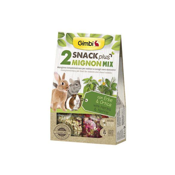 Gimbi snack plus mignion mix 2 csalán 50g