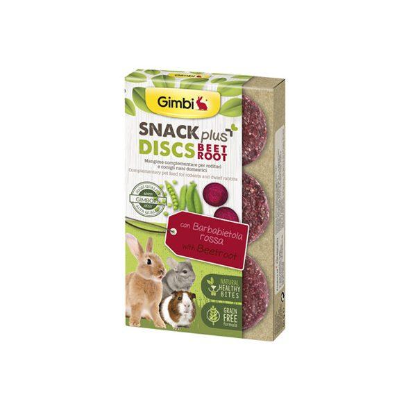 Gimbi snack plus discs cékla 50g