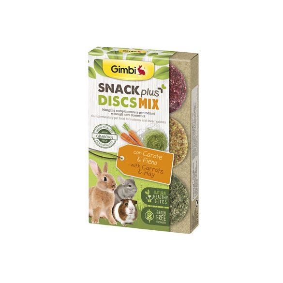Gimbi snack plus discs répa és széna 50g