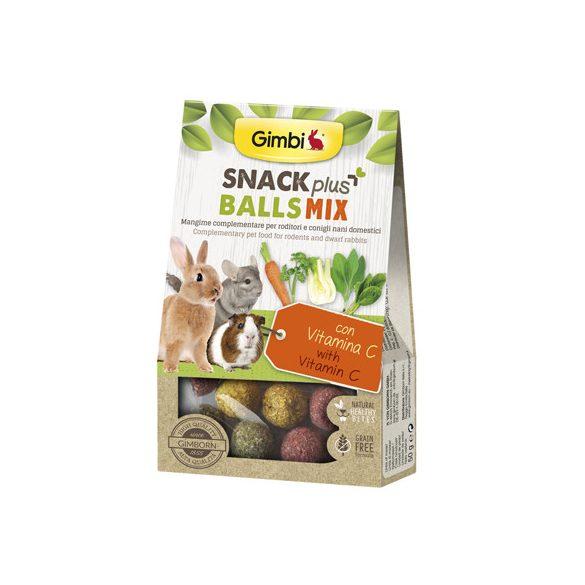 Gimbi snack plus balls mix c-vitaminnal 50g