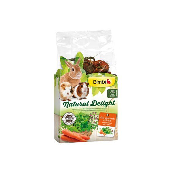 Gimbi natural delight gyógynövény és répa 100g