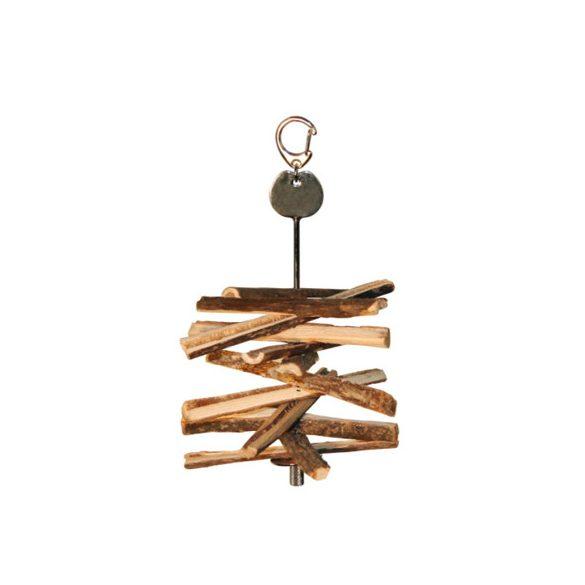 Kerbl játék natúr fa rágcsálni való 10db