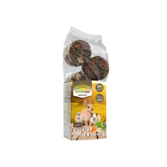 NatureLand Brunch sárga répás és paszternákos keksz 120g