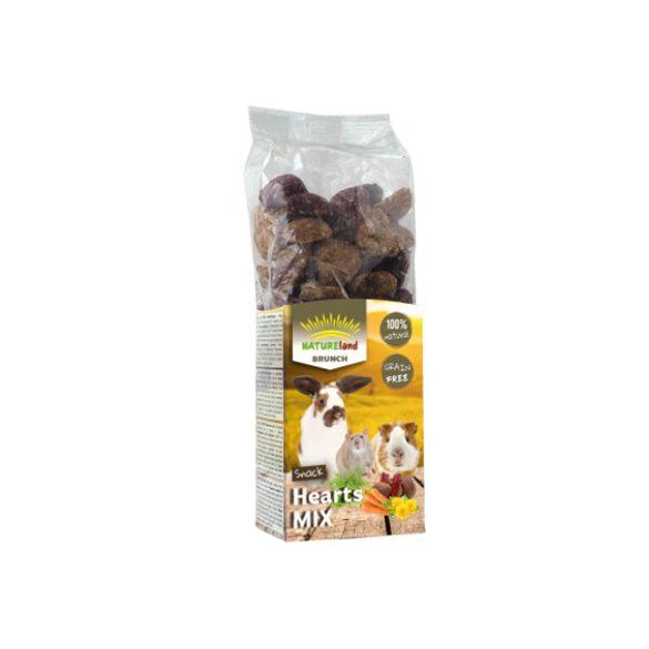 NatureLand Brunch sárga répás és pitypangos Hearts Mix 150g