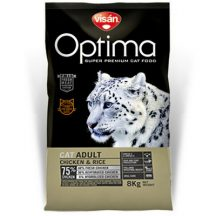 Visán Optimanova Cat Adult Chicken & Rice 2kg