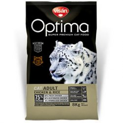Visán Optimanova Cat Adult Chicken & Rice 2kg