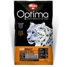 Visán Optimanova Cat Adult Salmon & Rice 400g