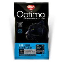 Visán Optimanova Cat Light Chicken & Rice 2kg