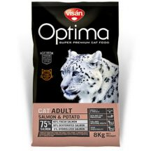Visán Optimanova Cat Adult Salmon & Potato 2kg
