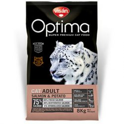 Visán Optimanova Cat Adult Salmon & Potato 2kg