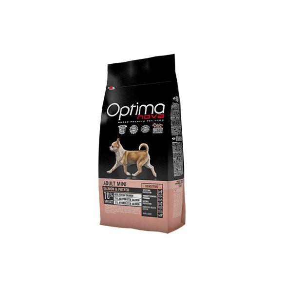 Visán Optimanova Dog Adult Mini Salmon & Potato 8Kg