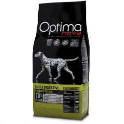 Visán Optimanova Dog Adult Digestive Rabbit & Potato 12Kg