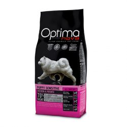 Visán Optimanova Dog Puppy Sensitive Salmon & Potato 12Kg