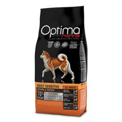 Visán Optimanova Dog Adult Sensitive Salmon & Potato 12Kg